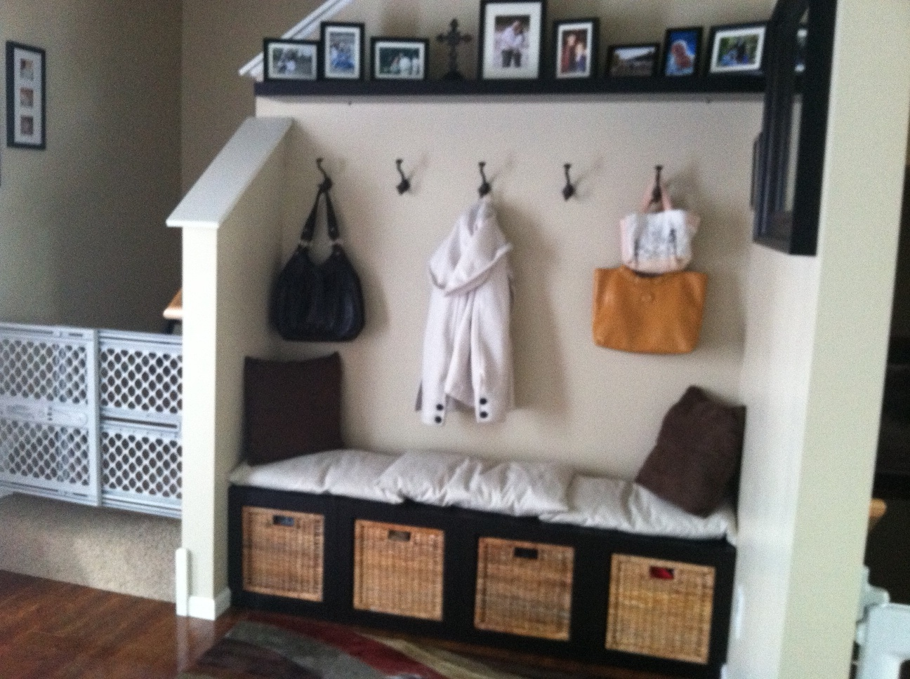 A Large Rug To Entry Way 2 Allow For Moving With Shoes And A Place To Put  ...