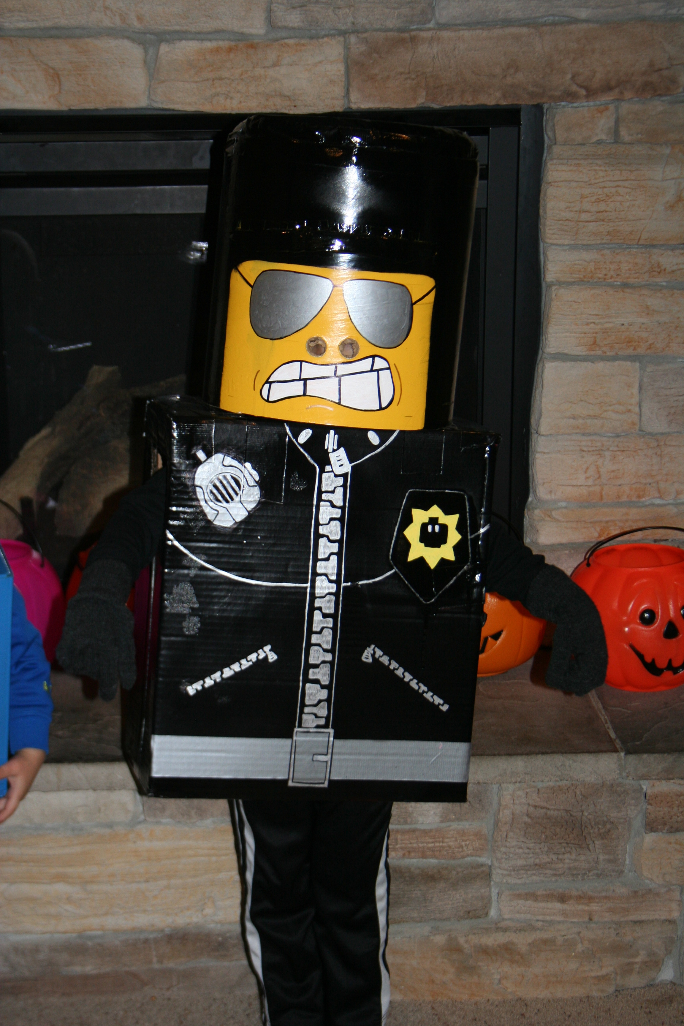 Halloween menne thoughts they all thought their costumes were awesome if you are thinking of trying a lego diy solutioingenieria Images