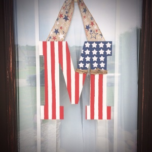 Patriotic Door Hang